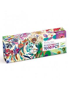 Puzzle gallery rainbow tigers 1000 pièces