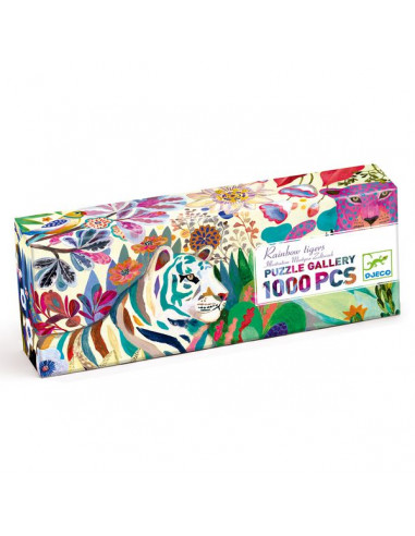 Puzzle gallery rainbow tigers 1000...