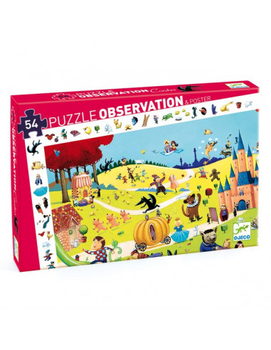 Puzzle d'observation contes - Djeco