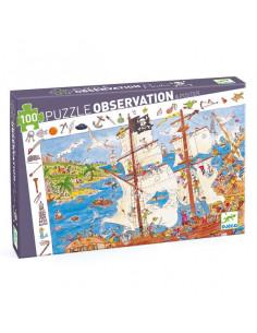 Puzzle d'observation Les pirates