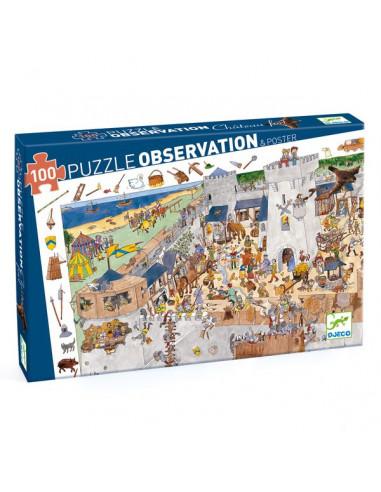 Puzzle d'observation Le chateau fort...