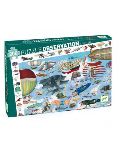 Puzzle d'observation aéro club 200...