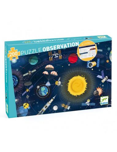 Puzzle d'observation L'espace et...