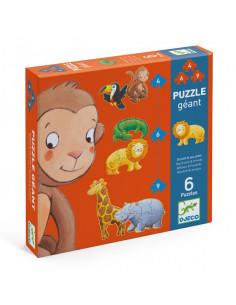 Puzzle géant Ouistiti & ses amis