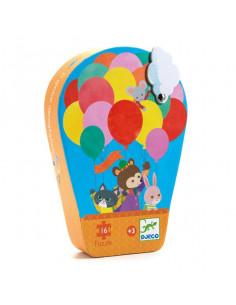 La montgolfière puzzle 16 pièces