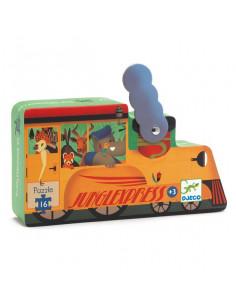 La locomotive puzzle 16 pièces