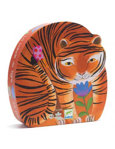 Puzzle la balade du tigre - Djeco