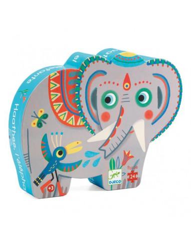 Puzzle Haathee éléphant d'Asie - Djeco