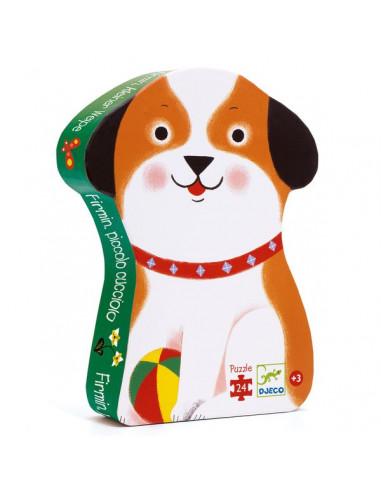Puzzle 24 pièces Firmin petit chien -...