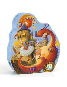 Puzzle Vaillant et les dragons
