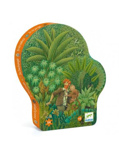 Dans la jungle puzzle 54 pièces - Djeco