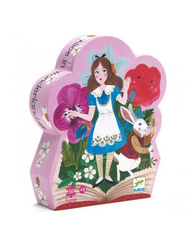 Puzzle Alice aux pays des merveilles...
