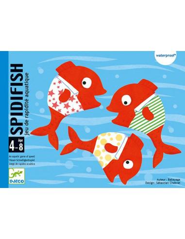 Jeu de carte Spidifish - Djeco