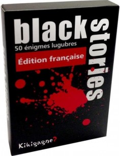 Jeu d'énigme Black Stories...