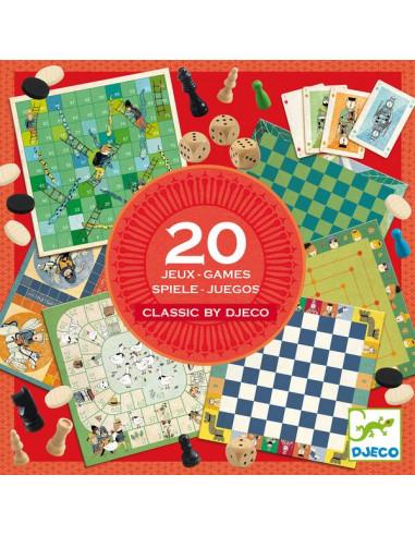 Classic box boîte de 20 jeux - Djeco