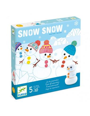 Snow snow - jeu coopératif Djeco