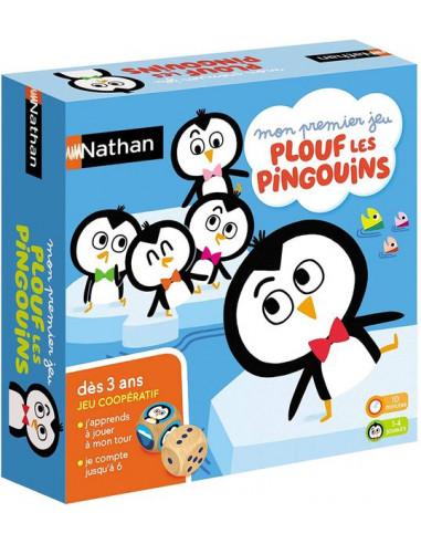 Mon premier jeu Plouf les pingouins -...