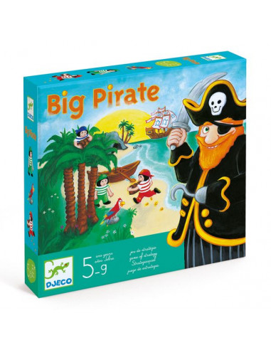 Jeu de tactique Big Pirates - Djeco
