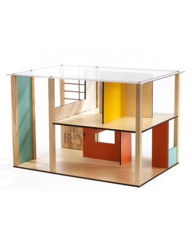 Cubic house - maison de poupée Djeco