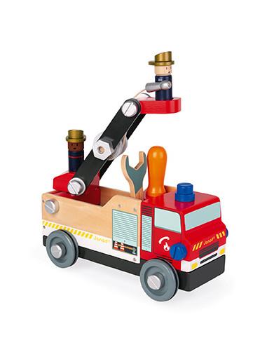Camion de pompiers Brico'Kids - Janod