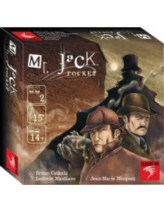 Jeu Mr Jack pocket - Asmodée
