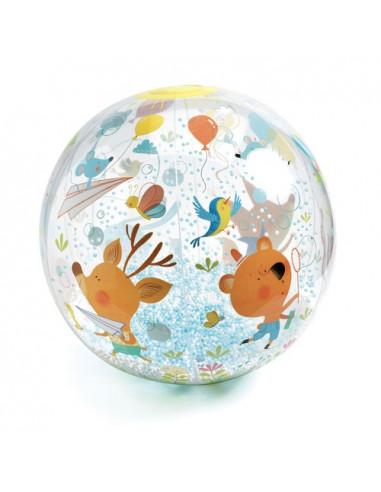 Ballon gonflable Bubbles ball - Djeco