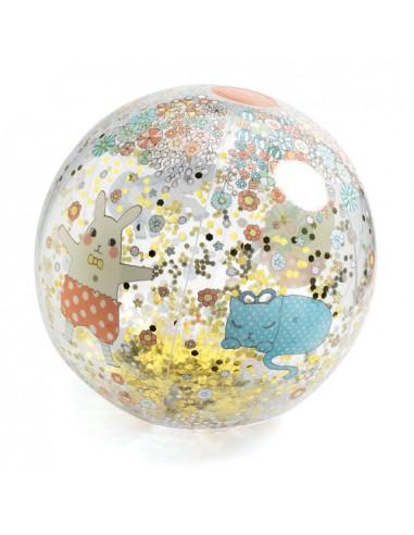 Ballon gonflable Kawaii ball - Djeco