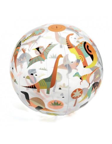 Ballon gonflable Dino ball - Djeco
