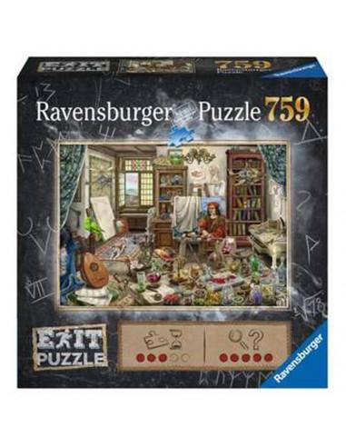 Escape puzzle atelier d'artiste -...