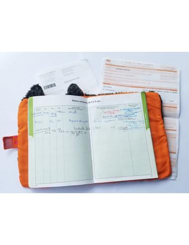 Protège carnet de santé Louloup -...