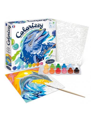 Colorizzy dauphins - Sentosphère