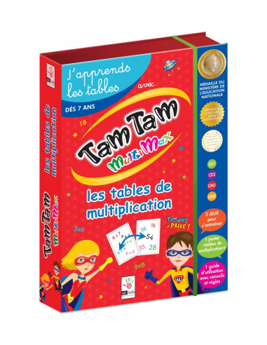Tam Tam Coffret Multimax j'apprends...
