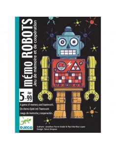 Jeu de carte Mémo Robots