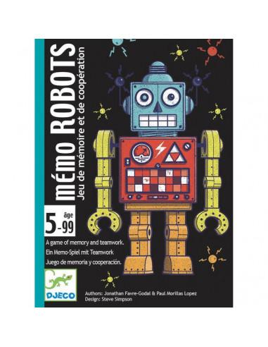 Jeu de carte Mémo Robots - Djeco