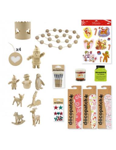 Pack Décorations DIY noël - Avenue...