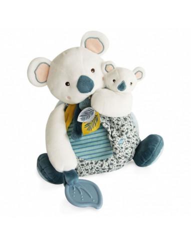 Yoca le Koala avec bébé et anneau de...