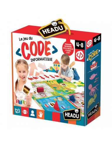 Le jeu du code informatique - Headu