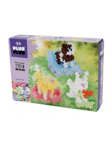 Plus Plus animaux Box mini pastel 170...