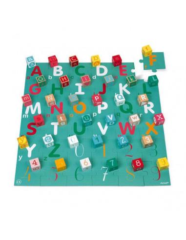 Kubix 40 cubes et puzzle lettres et...