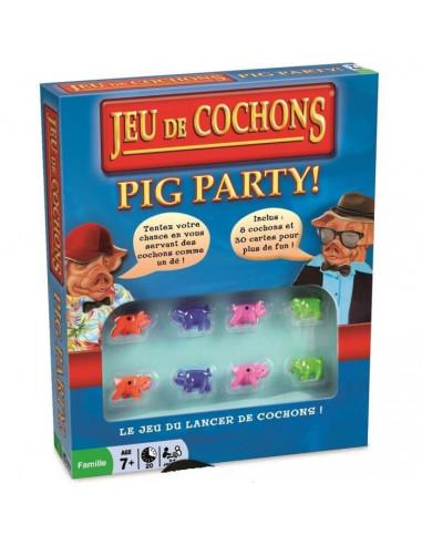 Jeu de cochons Pig party