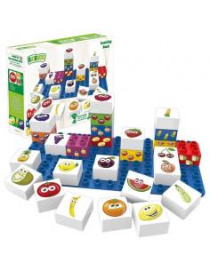 aide p/édagogique pour la formation de la motricit/é fine pour enfants jouet de tube /à essai avec des perles et des balles Jeu de logique de vitesse jeu /éducatif de motricit/é fine pour les enfants