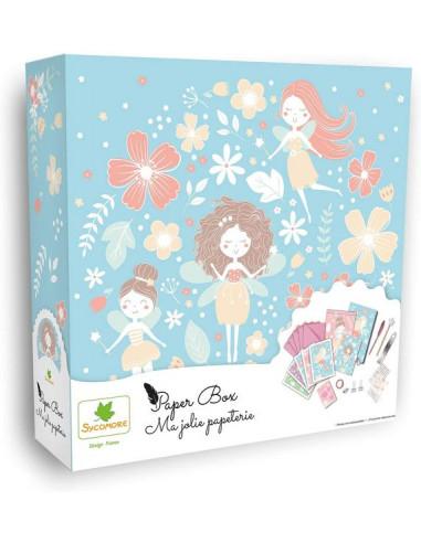 Paper box ma jolie papeterie fées -...