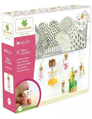 6 bijoux bouteilles - Sycomore