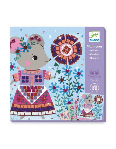 Mosaïques Lovely pets - Djeco