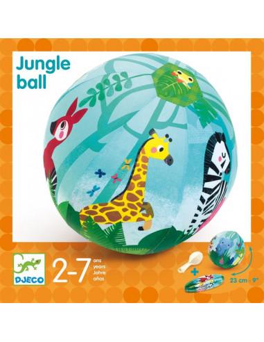 Ballon Jungle ball 23 cm - Djeco