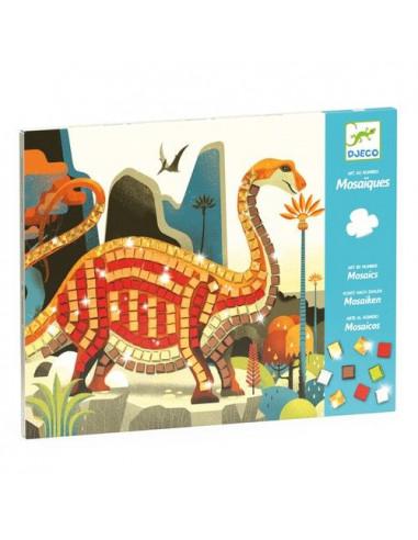 Mosaïques dinosaures - Djeco