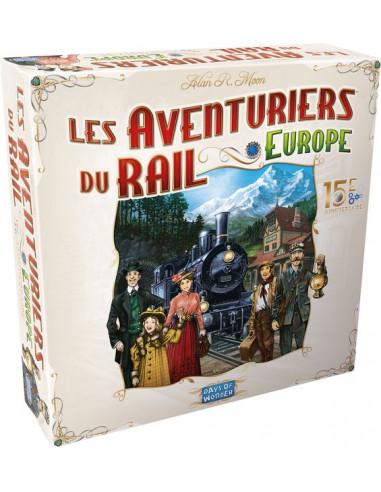 Les Aventuriers du Rail Europe 15e...