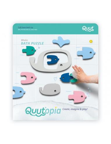 Puzzle de bain Baleine - Quut