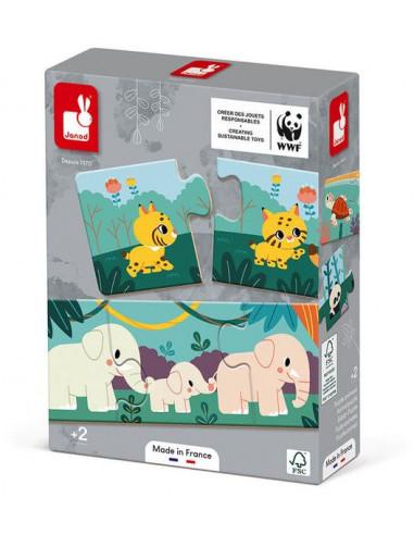 Puzzle Animaux 30 pièces WWF - Janod