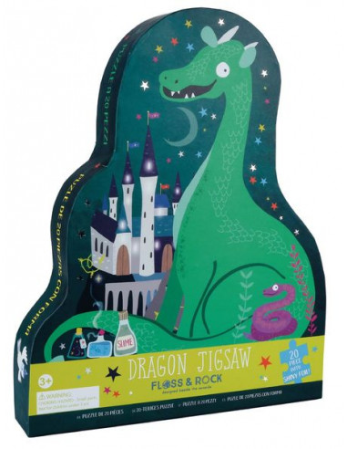 Puzzle Dragon envoûté 20 pièces -...